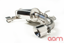 AAM Competition G37 Rear Exhaust  Axle Back System W/ Stainless Tips