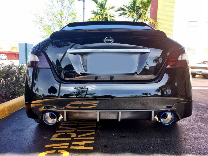 "AAM Competition S-Line 7th Gen Maxima Catback Exhaust W/ 5"" Polished Tips"