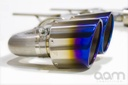 AAM Competition R35 GT-R 90MM Sport Exhaust W/ Titanium Tips