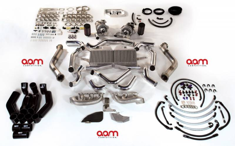 AAM Competition 370Z (2012+) Twin Turbo Kit - Tuner Series