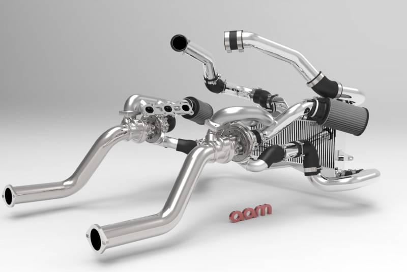 AAM Competition 370Z (2012+) Twin Turbo Kit - Tuner Series With Stage 2 Upgrade Turbos