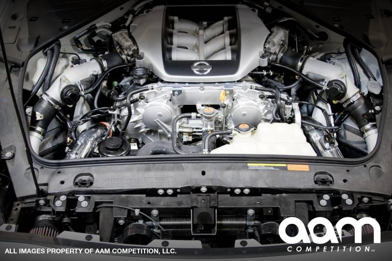 AAM Competition R35 GT-R S-Line 2 3/4 Intake Kit (Polished) 1
