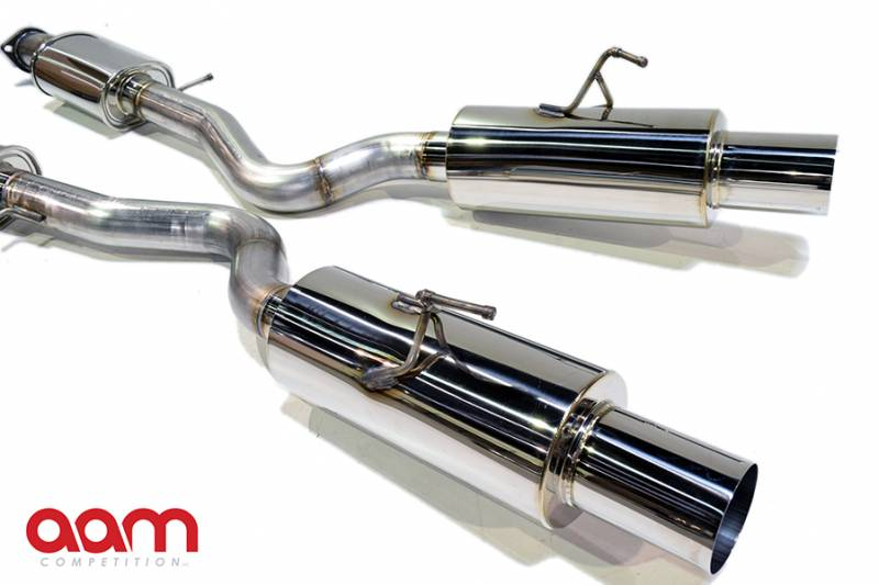 "AAM Competition 370Z 3"" True Dual Exhaust System 4"