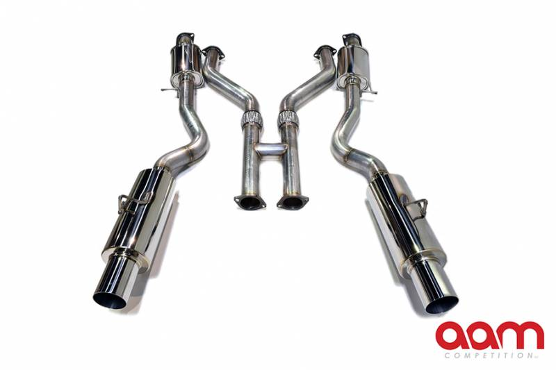 "AAM Competition 370Z 3"" True Dual Exhaust System 6"