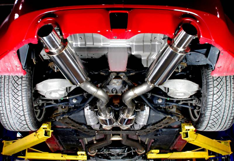 "AAM Competition 370Z 3"" True Dual Exhaust System 8"