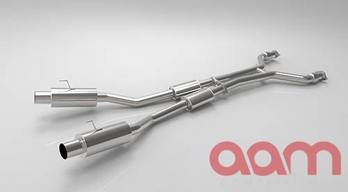 "AAM Competition 370Z 3"" True Dual Exhaust System 9"