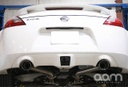 AAM Competition 370Z Short Tail Exhaust with Polished Tips 2