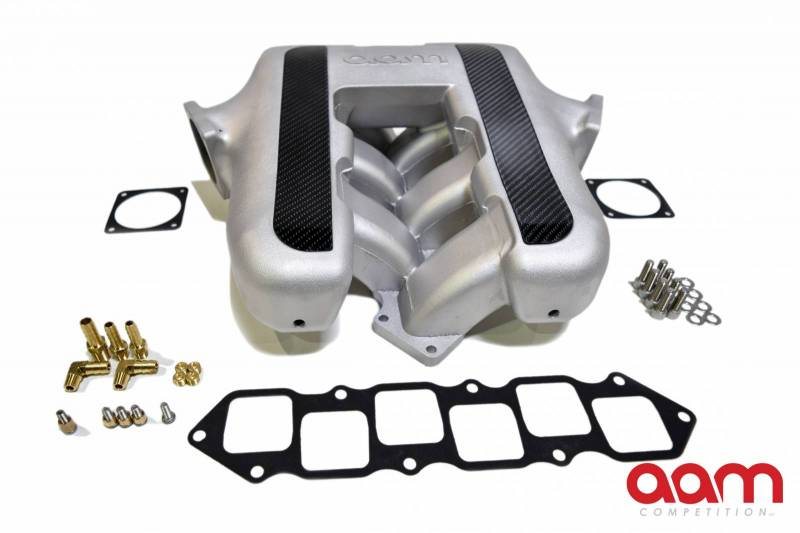 AAM Competition 370Z / G37 VQ37 Performance Intake Manifold w/ Carbon Inserts
