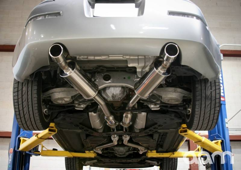 "AAM Competition 350Z 2.5"" True Dual System 350Z W/ Polished Tips"