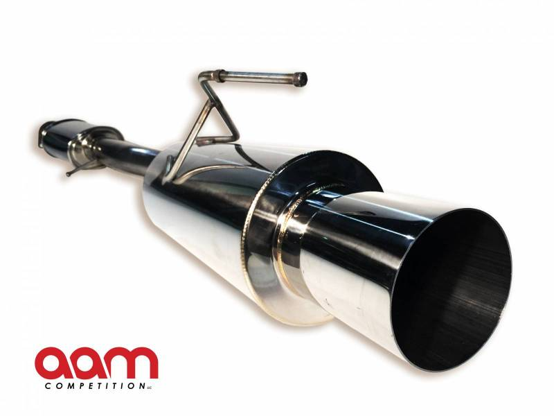 "AAM Competition 370Z 3"" Single Exhaust W/ Titanium Tip and Y-Pipe"