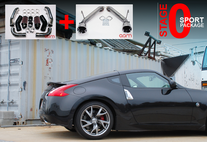AAM Competition 370Z / G37 Stage 0 Sport Power Package