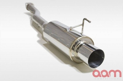 "[AAMC35E-MFS3-G35C] AAM Competition G35 3"" Single Exit Exhaust"