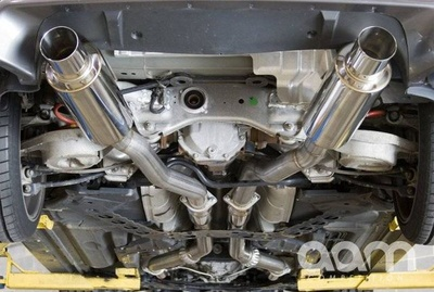 "[AAMC35E-MFTD3-G35] AAM Competition G35 3"" True Dual Exhaust System"