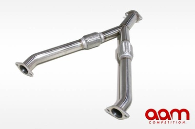 "[AAMC35E-MFYP253] AAM Competition 2.5"" to 3"" Y Pipe (350Z / G35)"