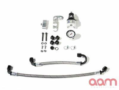 [AAMCGTRF-SLINEFPR] AAM Competition R35 GT-R S-Line Adjustable 1:1 Fuel Pressure Regulator Kit & Fuel Line Adapter Kit