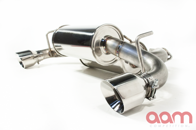 [AAMC37E-AXB] AAM Competition 370Z Rear Axleback Exhaust System w/ Stainless Tips