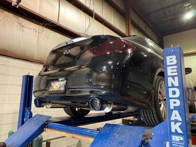 "AAM Competition G37 Sedan 2.5"" True Dual Exhaust System"